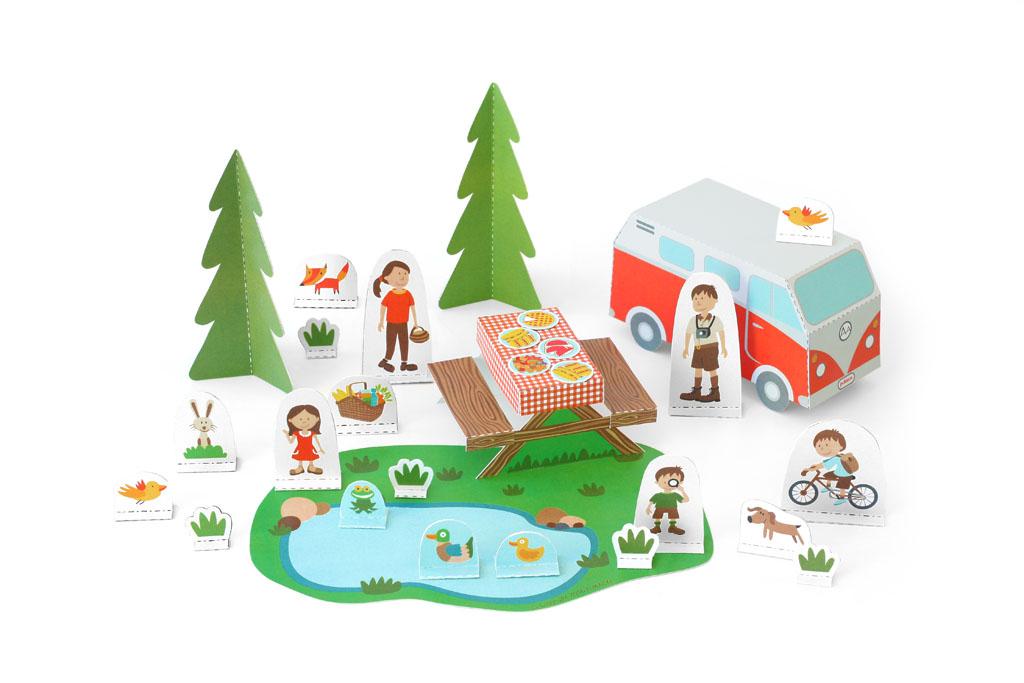 Pukaca igračke od papira otkrivaju novu dimenziju dječje igre